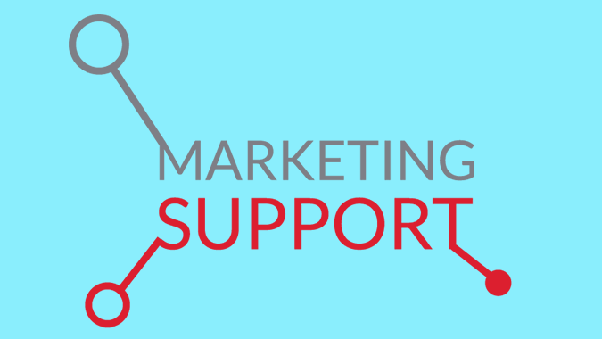 Marketing and support