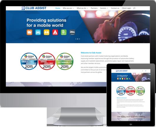 Club Assist – WordPress Web Development