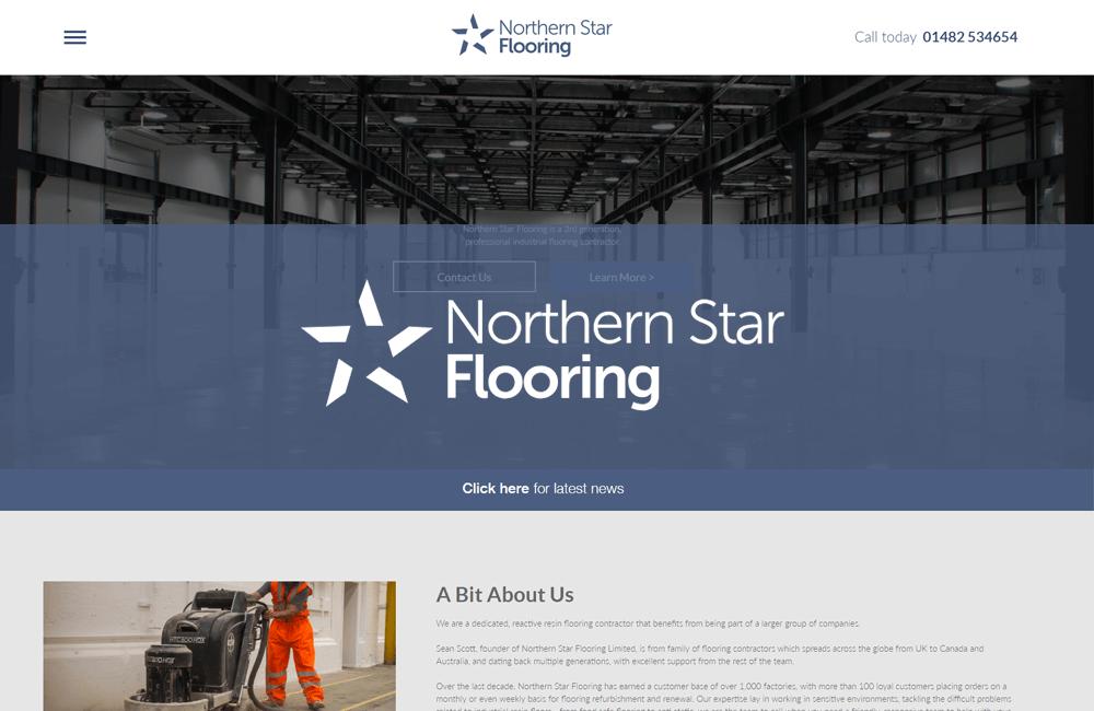 Star Contractor - WordPress Website