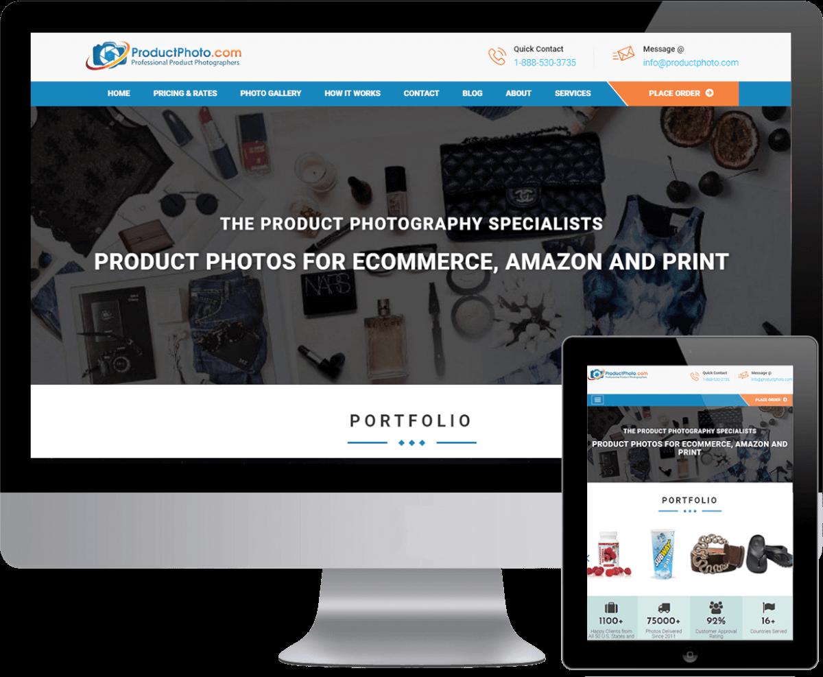 Product Photo – WordPress Website Development