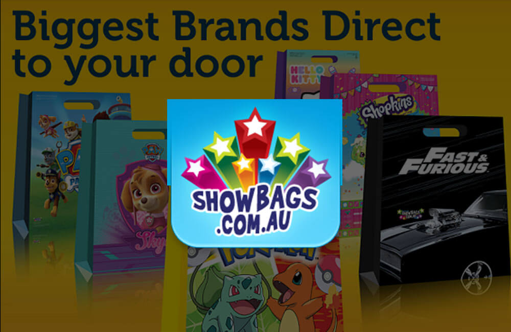 ShowBags - Magento Website