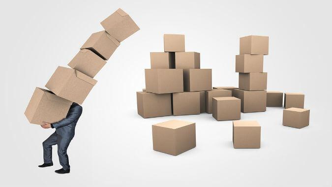 Logistics are a mess