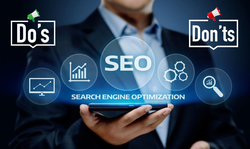 Do's and Don'ts of SEO as per Google's Algorithm Updates of 2019