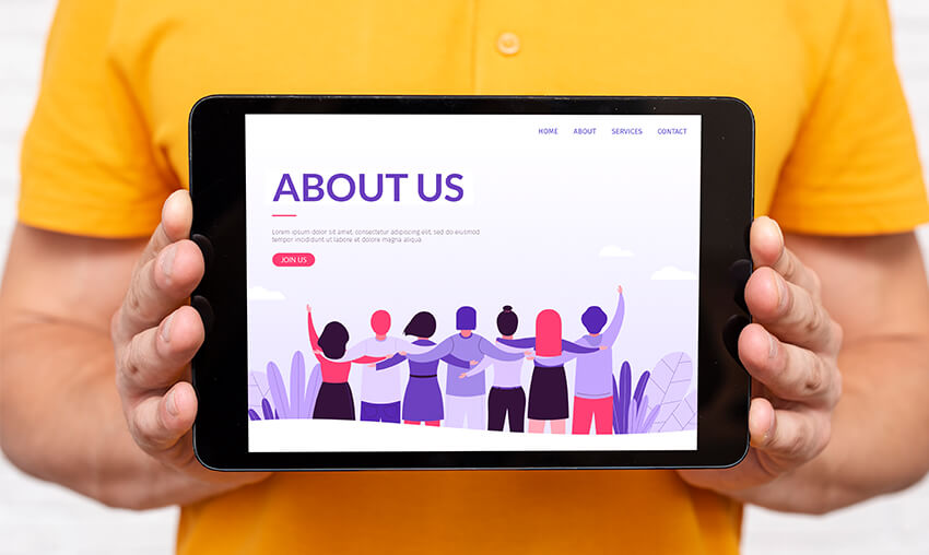 Tips to Create a Successful 'About Us' Page on Your Website