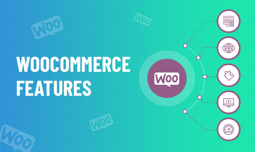 WooCommerce features list for eCommerce store