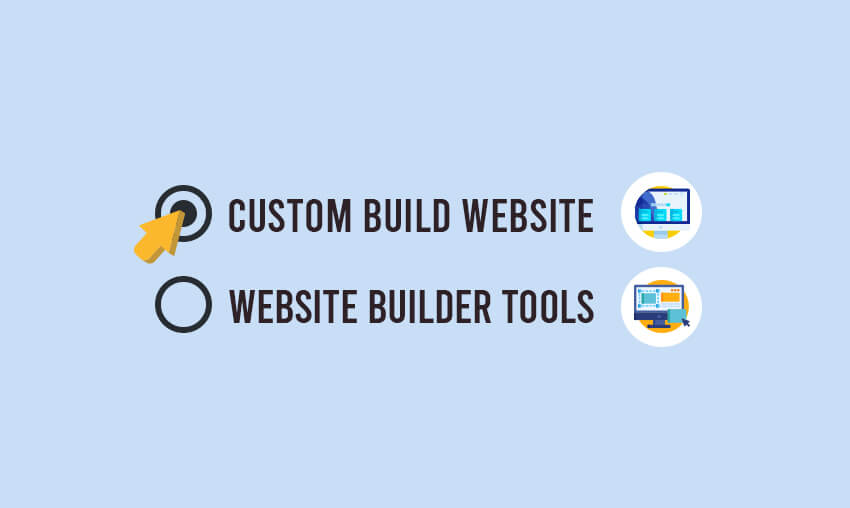 Advantages of Custom Built Sites vs Online Website Builder Tools