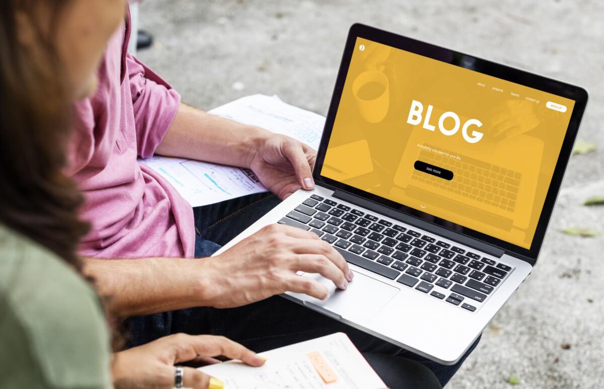 organic ranking with blogging